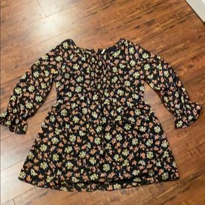 Free People floral dress- SIZE 0